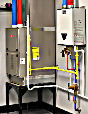 HVAC completed and under the 24 hours service and satisfaction guarantee